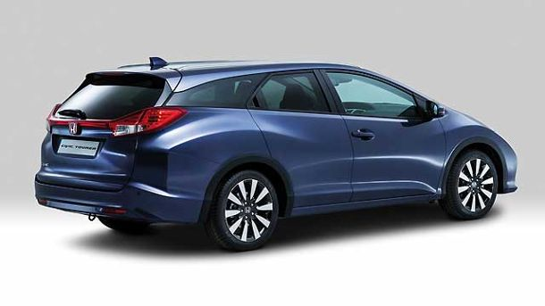 Honda Civic Tourer (Quelle: Hersteller)