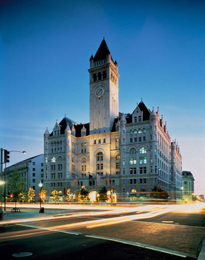 Donald Trump will den Old Post Office Pavilion zu einem Luxushotel umbauen. (Quelle: Courtesy of the Trump Organization/Carol M. Highsmith)