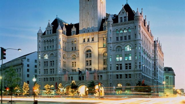 Old Post Office Pavilion: Trump plant neues Luxushotel in Washington. Donald Trump will den Old Post Office Pavilion zu einem Luxushotel umbauen. (Quelle: Courtesy of the Trump Organization/Carol M. Highsmith)