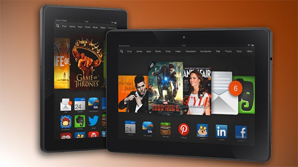 Kindle Fire HDX: Amazon bringt neue Tablets nach Deutschland. Amazon Kindle Fire HDX (Quelle: Hersteller)
