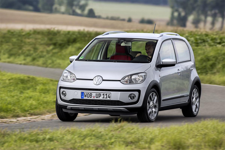 VW cross up! (Quelle: Press-Inform)