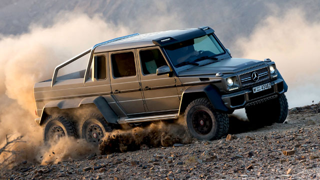 mercedes g 63 amg 6x6 gel ndemonster auf sechs r dern. Black Bedroom Furniture Sets. Home Design Ideas