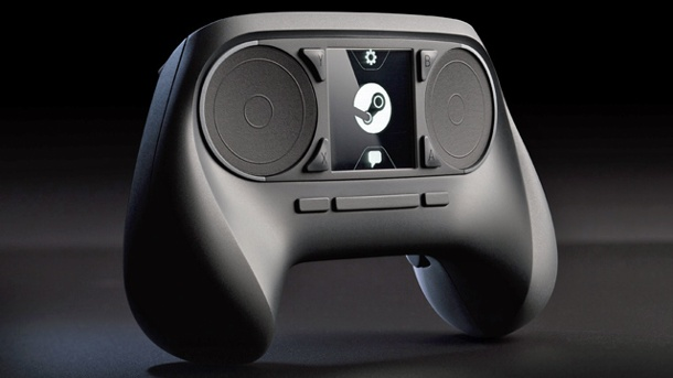 """Steam Machine"": Valve setzt beim Controller auf innovative Bedienung. Steam Controller (Quelle: Valve)"