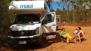 Wohnmobil in Queensland.