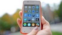 Alcatel OneTouch Fire mit Firefox OS (Quelle: dpa)
