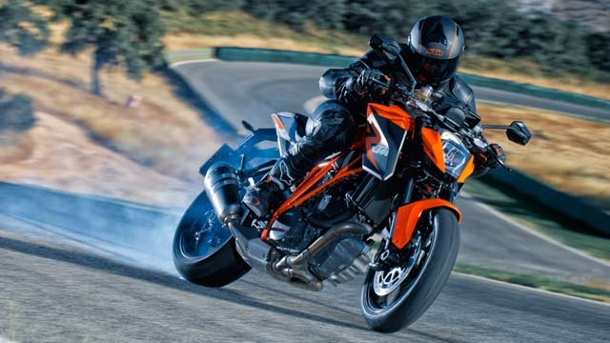 KTM 1290 Super Duke R: Das Höllengerät geht an den Start. Radikale Speed-Maschine KTM Super Duke 1290 R (Quelle: KTM)