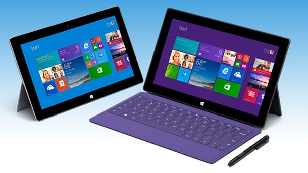 Microsoft Surface 2 fordert Apple iPad 5 heraus. Surface 2: Microsoft bringt neue Tablets an den Start  (Quelle: t-online.de)