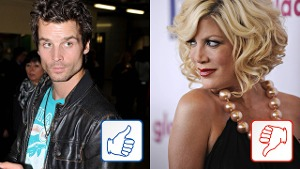Patrick Nuo & Tori Spelling sind Top & Flop des Tages