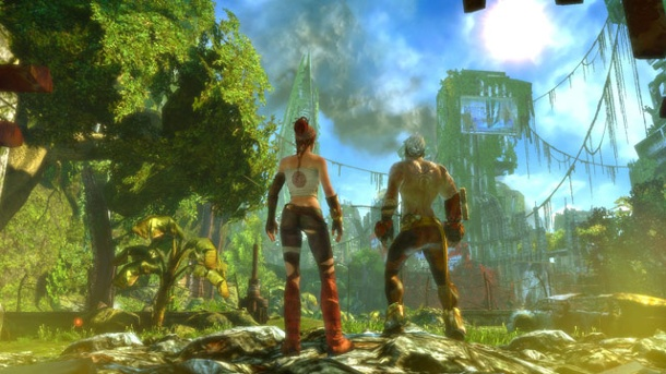 Enslaved: Odyssey to the West - Premium Re-Release auch auf PC. Enslaved: Odyssey to the West (Quelle: Namco Bandai)