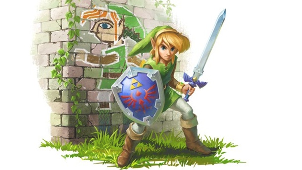 Test The Legend of Zelda – A Link Between Worlds für 3DS: Kleiner Held in großem Abenteuer. The Legend of Zelda: A Link Between Worlds - Action-Adventure für 3DS (Quelle: Nintendo)