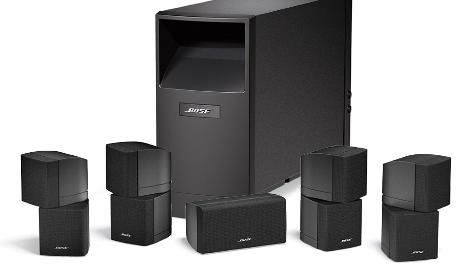 das set acoustimass 10 home cinema speaker system von bose. Black Bedroom Furniture Sets. Home Design Ideas