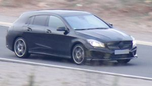 Mercedes CLA Shooting Brake (Quelle: SB-Medien)