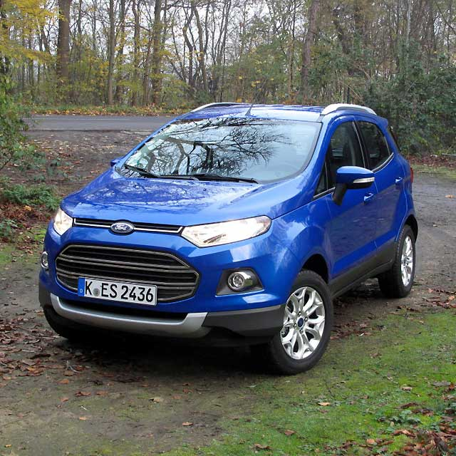 Ford ecosport mini suv pictures apps directories