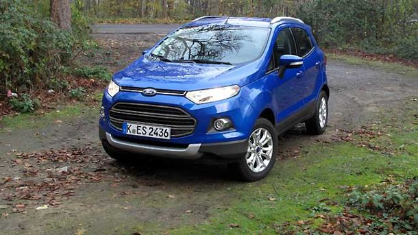 Ford Ecosport (Quelle: Press-Inform)