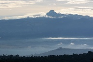 Mount Kenya in Kenia. (Quelle: dpa/tmn/Kenya Tourism Board)