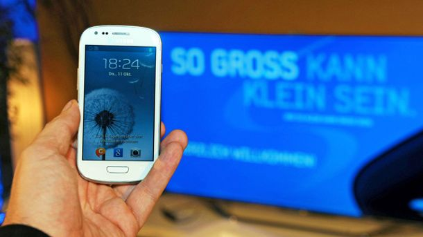 Samsung Galaxy S3 mini (Quelle: imago\Star-Media)