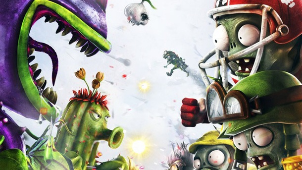 Preview zu Plants vs. Zombies: Garden Warfare - Das Grünzeug muss sterben. Plants vs. Zombies: Garden Warfare Third-Person-Shooter von Popcap und Electronic Arts für Xbox One, Xbox 360 und PC (Quelle: Electronic Arts)
