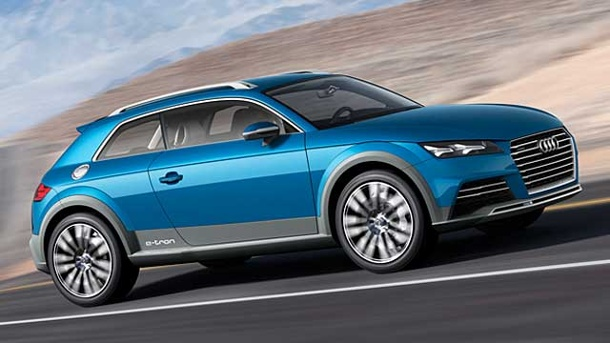 Audi Allroad Shooting Brake: Sportkombi im SUV-Look. Audi Allroad Shooting Brake (Quelle: Hersteller)