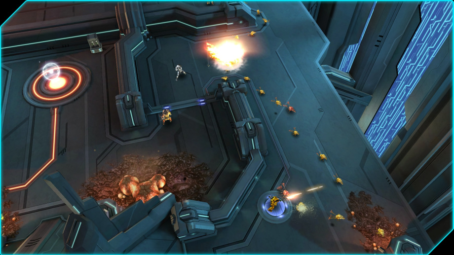 Halo: Spartan Assault Actionspiel von Microsoft für Xbox One, Windows 8-PC, Windows-Phone, Xbox 360 (Quelle: Microsoft)