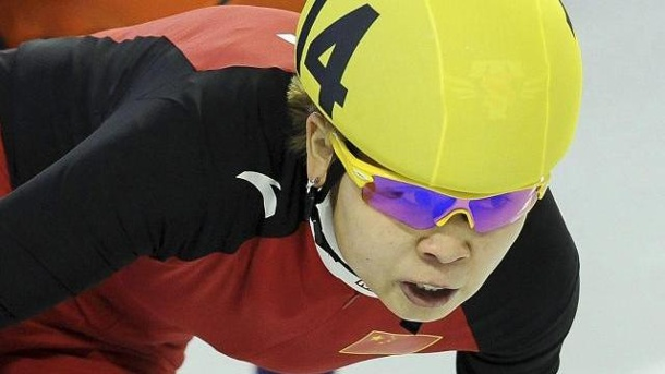 China wohl ohne Shorttrack-Star Wang zu Olympia. Wang Meng wird bei Olympia wohl fehlen.