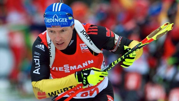 Biathlon: Deutsche Herren-Staffel feiert Platz drei in Antholz. Andreas Birnbacher in Aktion (Quelle: imago/Camera 4)