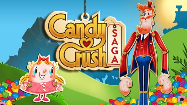 Candy Crush-Erfinder King schlägt Vorreiter Zynga. Candy Crush Saga (Quelle: King)
