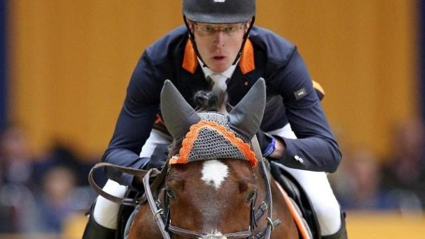 Springreiter Rieskamp-Goedeking gewinnt in Offenburg. Tim Rieskamp-Goedeking hat die Qualifikation zum Großen Preis in Offenburg gewonnen.
