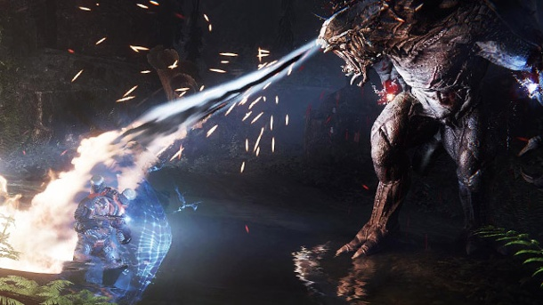 "Evolve: 2K Games verlängert den ""Big Alpha""-Test. Evolve (Quelle: 2K Games)"