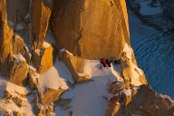 David Lama und Peter Ortner am Cerro Torre, Patagonien. (Quelle: Corey Rich/Red Bull Content Pool)