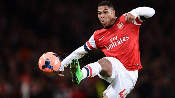 Serge Gnabry: Super-Talent des FC Arsenal will für DFB-Team auflaufen. Serge Gnabry (Quelle: imago/Paul Marriott)