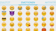Threema: Smileys (Quelle: Screenshot: Threema)