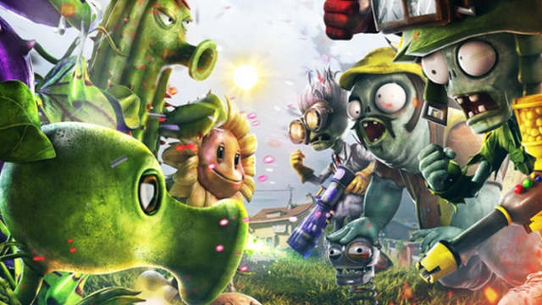 Plants vs. Zombies: Garden Warfare: Das Battlefield für Floristen. Plants vs. Zombies: Garden Warfare Online-Shooter von Popcap für Xbox One, Xbox 360 und PC (Quelle: Electronic Arts)