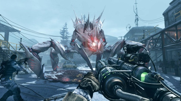 """Call of Duty: Ghosts - Onslaught"": Shooter-DLC mit wechselndem Niveau. Call of Duty Ghosts - Onslaught Add-on zum Ego-Shooter von Infinity Ward für PC, PS3, PS4, Xbox 360 und Xbox One (Quelle: Activision)"