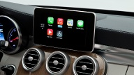Apple CarPlay hat wie das iPhone einen Homescreen. (Quelle: dpa)