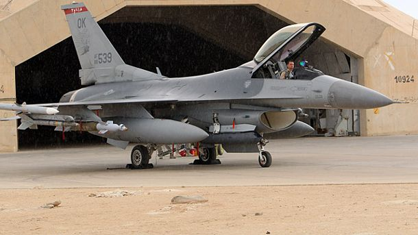F-16-Kampfjets, U. S. Air Force (Quelle: AFP)