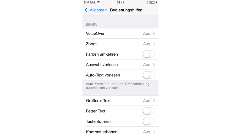 Apple iOS 7.1  (Quelle: t-online.de)