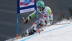 Felix Neureuther im Riesenslalom.