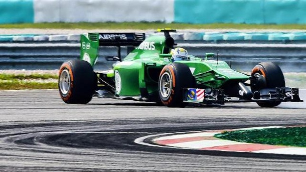Ericsson: Unfall in erster Quali-Runde. Marcus Ericsson krachte in Sepang in die Leitplanke.