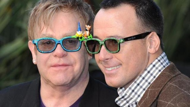 Elton john will david furnish im stillen heiraten elton john l