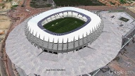 """Estádio Castelão"" in Fortaleza (Quelle: Screenshot: T-Online.de)"