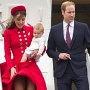 William, Kate und George in Neuseeland (Quelle: AP/dpa)