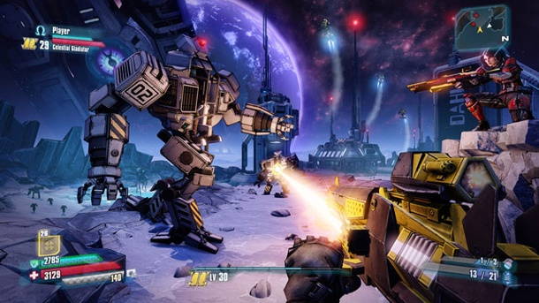 """Borderlands: The Pre-Sequel"": Schieß' mich auf den Mond. Borderlands: The Pre-Sequel (Quelle: 2K Games)"