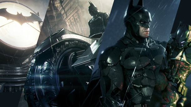 Superheld mit GTA im Blut: First Look Batman Arkham Knight | Action-Adventure | PC, PS4, Xbox One. Batman: Arkham Knight Action-Adventure für PC, PS4 und Xbox One von Rocksteady (Quelle: Warner Bros. Interactive Entertainment (Montage: Richard Löwenstein))