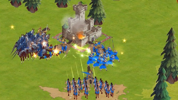 """World Domination"": Microsoft macht die ""Age of Empires""-Reihe mobil. Age of Empires: World Domination Strategiespiel von Microsoft für iOS, Android und Windows Phone (Quelle: Microsoft)"