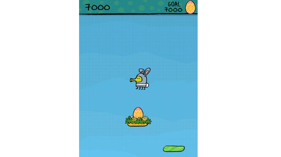 Die besten Osterspiele: Doodle Jump Easter Special (Quelle: Lima Sky)
