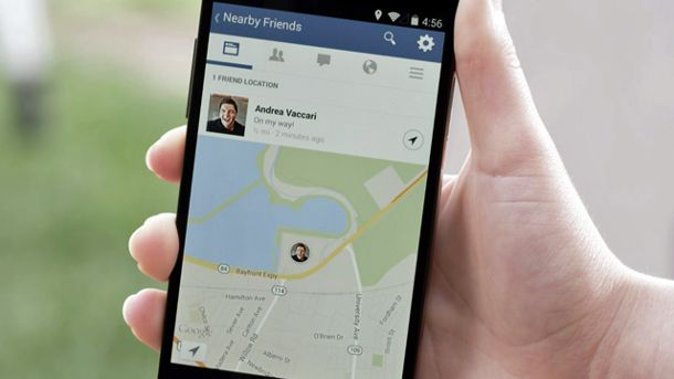 Facebook-Funktion 'Nearby Friends' (Quelle: AP/dpa)