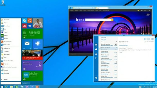 Windows 8.1 Startmenü (Quelle: Screenshot: Microsoft)