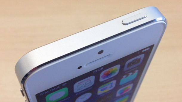 Power-Button des iPhone 5 defekt: Apple bietet Gratis-Reparatur an. iPhone 5s (Quelle: t-online.de)