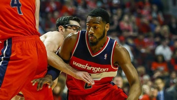 Washington schmeißt Chicago aus NBA-Playoffs 2014. Spielmacher John Wall führte Washington in die nächste Runde.
