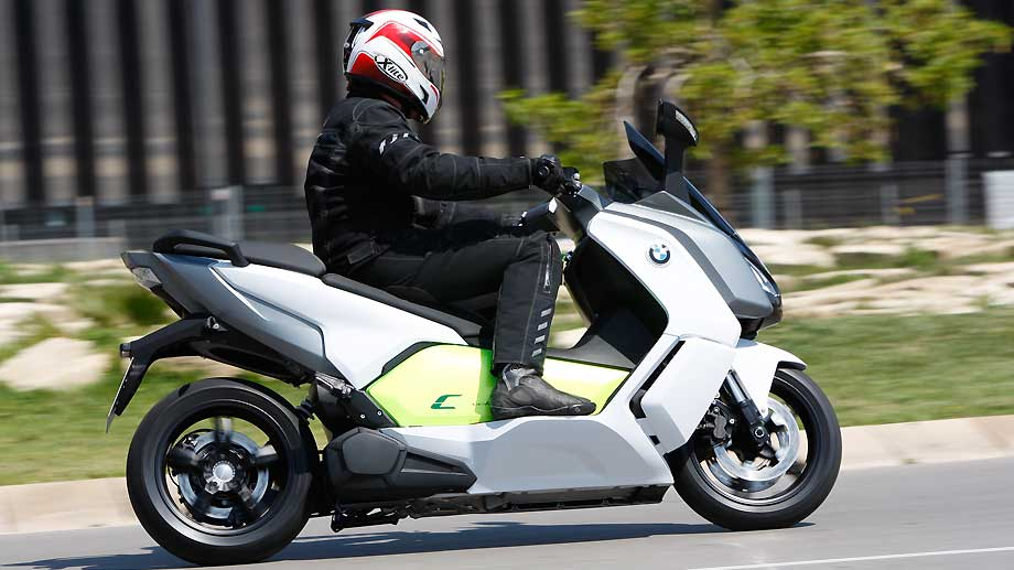BMW C Evolution (Quelle: Automedienportal)